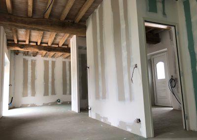 Cloison de distribution rénovation maison